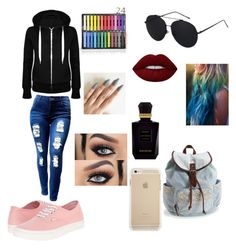 A fashion look from April 2016 featuring zip front hoodie, plus size jeans and vans shoes. Browse and shop related looks. Jeans And Vans, Plus Size Jeans, Vans Shoes, Lime Crime, Fashion Looks, Hoodies, Day, Polyvore, Shopping