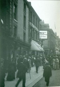 Fenwick Ltd, bottom of Northumberland Street 1890 Newcastle-upon-Tyne