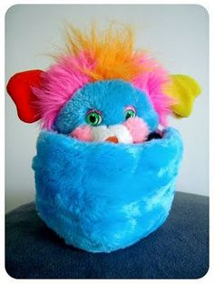 Popples! These were the best! I still have mine and it looks just like this one :)
