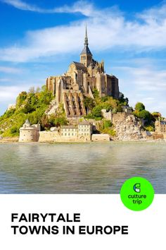 At times, Mont-Saint-Michel in France is cut-off from the mainland. Here are 10 European towns that look like they've leapt straight out of a fairy tale.  . . . #CultureTrip #ForCuriousTravellers #Travel #EuropeanDestinations #FairytaleLocations #EuropeanTowns #WanderlustDestinations #Wanderlust #Europe #France #Portugal #Croatia #Spain #Slovenia #Wales #Italy  📸. Jan Wlodarczyk