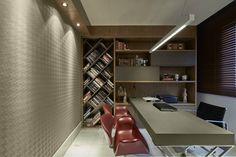 Apartamento Belvedere 2014 : por Gislene Lopes Arquitetura e Design de Interiores
