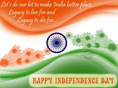 Happy Independence Day 2014 to all Patriotic Indians. Celebrate the 68th Independence Day India 2014 with SMS, Wishes & HD Wallpapers.