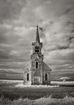 Faith In The Fields II Abandoned Church near Sisseton , South Dakota