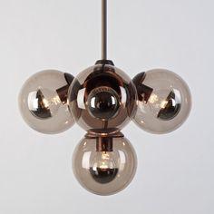 Roll & Hill Modo 5 Globe Pendant modern-pendant-lighting