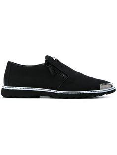 Shop Giuseppe Zanotti Design Bernie loafers.