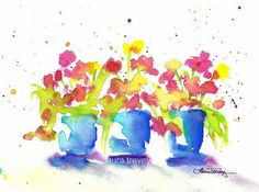 """Bright Blooms, as seen in the movie, New Year's Eve directed by Gary Marshall. $68 large 16"""" by 24"""""""
