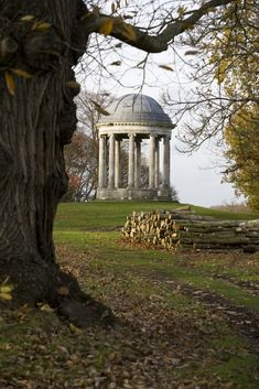 The Rotunda, built in about 1760, in the Pleasure Ground at Petworth. ©National Trust Images/David Levenson