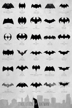 La evolución del logo de Batman en sus 75 años de historia #BatmanDay http://bit.ly/RWlOvM pic.twitter.com/KCLwvPPjdb
