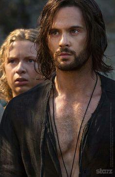 Tom Riley - as Leonardo Da Vinci - in Da Vinci's Demons -