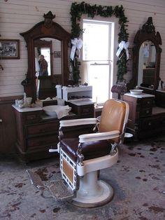 Historic Barber Shop by TrueWolverine87 (Busy), via Flickr