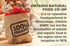 Ontario Natural Food Co-op | Ontario's leading natural and organic food distributor.