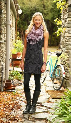 Printed Shayla Shift Dress | Athleta Fall 2013 Collection