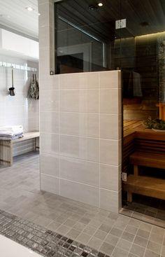 Laundry Room Bathroom, Bathroom Toilets, Bathroom Cleaning, Basement Bathroom, Modern Saunas, Sauna Shower, Sauna Design, Spa Rooms, Bathroom Inspiration