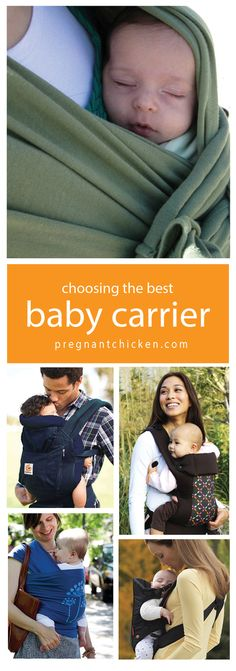 Choosing the Best Baby Carrier. Good tips!