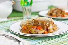 Vegan Shepherd's Pie with Gravy @FoodBlogs