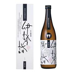 伊勢詣 / 日本酒 isemoude / japanese sake package design PD