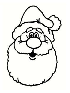 25 coloriages de Père Noël !!