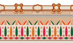 Pattern Art, Print Patterns, Madhubani Art, Boarders, Border Design, Textile Design, Creative Inspiration, Baroque, Jacobean