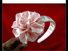 Flores rosas diademas tricolores trenzadas en cintas para el cabello