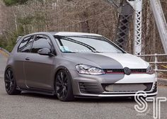 Spring can't come fast enough and winter only just started. Big plans for this coming season stay tuned . #drivewaybuilt #vwlove #vwlife #ctvw #mk7 #mkvii #golf #golf7 #gti #lowlife #bccoilovers #ecstuning #alzorwheels #rieger #oettinger #fall #wintermode #photoshoot