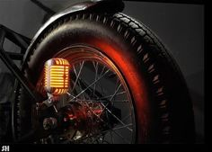 Microphone tail light
