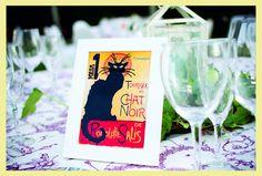 Meseros Cabaret. #ideas #boda #decoracion #meseros #cabaret