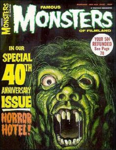 Famous Monsters of Filmland. No. 40.