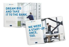 Columbia Bank Business Ads