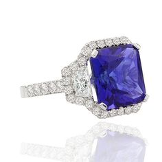 TANZANITE - The ancients believed that Tanzanite, holding in its depths the power of Sea and Sky - had influence over the Spirit World as well.  The Masai's believe that Tanzanite is the stone of birth, and it is for this reason that they frequently gifted their wives with Tanzanite gemstones following the birth of their first child.  Tanzanite's calming influence has made it a symbol of love, loyalty and trust. It is an extraordinary gemstone for several reasons. It occurs in only one place…