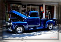 1953 Chevrolet Pickup by SpeedProPhoto, via Flickr: