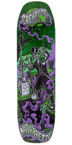 "Creature Navarrette Gravedigger Skateboard Deck - 8.8"""