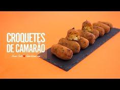 Croquetes de Camarão | SaborIntenso.com