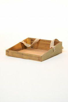 Usher Tray Hire. Large Wood Effect Ushers Tray
