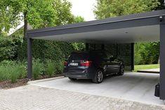 Pergola Ideas For Small Backyards Car Porch Design, Garage Design, House Design, Carport Garage, Pergola Carport, Pergola Kits, Pergola Ideas, Metal Barn Homes, Pole Barn Homes