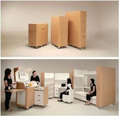 Designed By Anese Company Atelier Opa This Is A Kenchikukagu Folding Bedroom