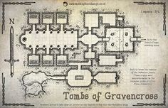 Tombs of Gravencross (Labelled Version)