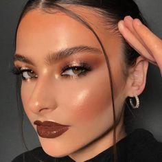 Makeup Eye Looks, Creative Makeup Looks, Halloween Makeup Looks, Cute Makeup, Glam Makeup, Pretty Makeup, Makeup Inspo, Makeup Art, Makeup Inspiration