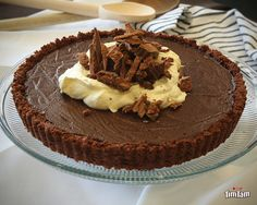 Tim Tam Cream Pie Preparation time: 20 minutes Cook time: 5 minutes Chilling time: 1 hour Setting time: 4 hours Serves: 6 Ingredients · 400g (2 packets) Arnott's Tim Tam · 60g unsalted butter,...