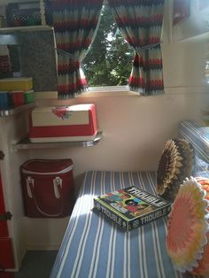 The car and vintage caravan and swap meet at Cora Lynn. Interiors of some of the vintage caravans. Vintage Campers Trailers, Retro Campers, Vintage Caravans, Camper Trailers, Trailer Decor, Trailer Interior, Casas Trailer, Camping Glamping, Camping Tips