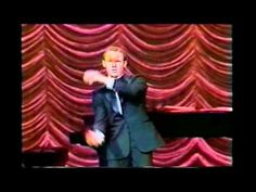 Michael Davis performs at the historic Ford's Theater for the former President and Mrs. Part 1 Comedy Clips, Ronald Reagan, Former President, Optical Illusions, Comedians, Haha, Disney Characters, Fictional Characters, Aurora Sleeping Beauty