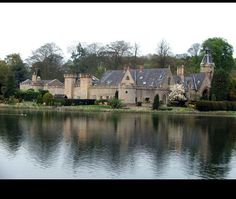 A view at Newstead Abbey