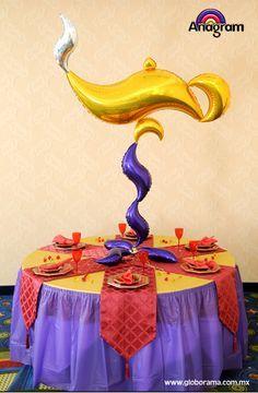 Arabian Nights Prom, Arabian Nights Theme Party, Arabian Party, Prom Balloons, Jasmin Party, Egyptian Party, Aladdin Party, Dance Decorations, Balloon Display