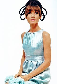 Rare Audrey Hepburn — Audrey Hepburn photographed by William Klein for a...