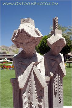 Frank Lloyd Wright ~ Midway Garden Sprites. Love Love These!