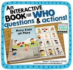 An INTERACTIVE book for WHO questions & actions! (scheduled via http://www.tailwindapp.com?utm_source=pinterest&utm_medium=twpin&utm_content=post27999170&utm_campaign=scheduler_attribution)
