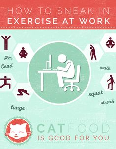 How To Sneak In Exercise At Work