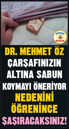 Doctor Mehmet Öz recommends putting soap under your sheets … – Health and Wellness Natural Remedies For Migraines, Herbal Remedies, Home Remedies, Salad Packaging, Healthy Life, Healthy Living, Health And Wellness, Health Fitness, Ways To Sleep