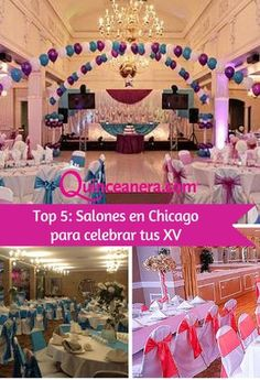 Salones | Chicago | Venues | Banquet Halls | Balloons | venue decor