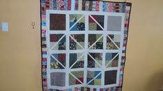 Random quilt that just happened. put some things together, then cut and sew some more. and cut. and presto. Quilts, Blanket, Sewing, Random, Holiday Decor, Projects, Home Decor, Log Projects, Dressmaking