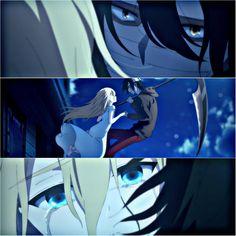 So beautiful yet so heartbreaking Anime Guys, Manga Anime, Anime Art, Angel Of Death, Familia Anime, Manga Story, Satsuriku No Tenshi, Rpg Horror Games, Anime Angel